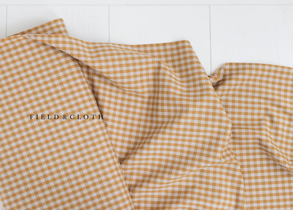 Gingham - Medium in Mustard