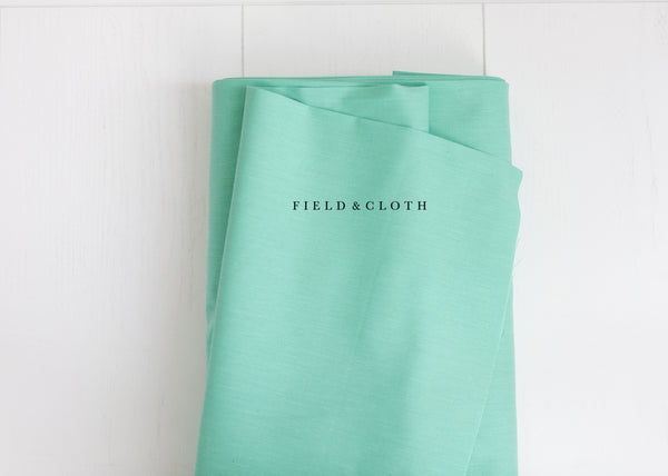 Cirrus Solid - Organic Cotton in Mint