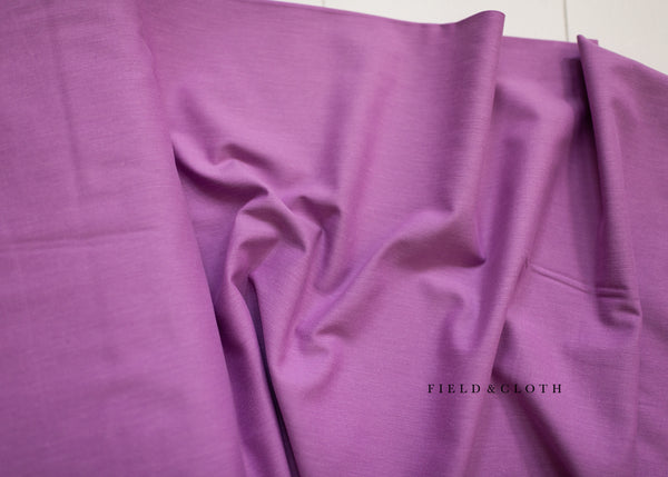 Cirrus Solid - Organic Cotton in Lilac