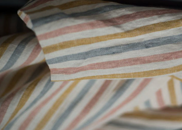 Merchant & Mills Dress Weight Linen - Suzy Stripe