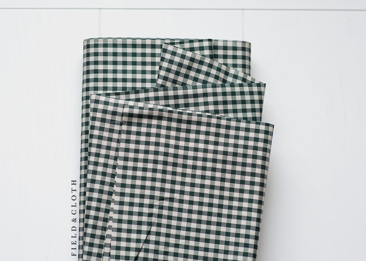 Crawford Gingham - Medium in Forest