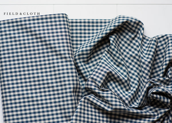 Gingham - Medium in Navy
