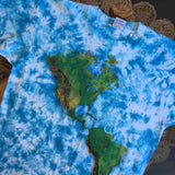 Original 1990s Vintage Earth T-Shirt/ Size XL