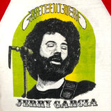 Original Late 70s/ Early 80s Vintage Jerry Garcia Raglan/ Size Large