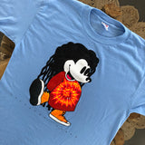 Original Early 1990s Vintage Bootleg Mickey T-Shirt Size XL