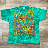 Original 1995 Vintage Enchanted Rainforest T-Shirt/ Size XL
