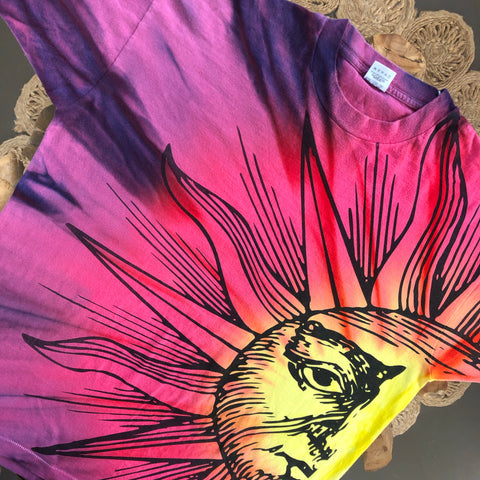 Original Early 1990s Vintage Sun T-Shirt/ Size XL