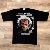 Original Early 1990s Vintage Einstein T-Shirt/ Size Large