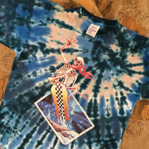 Original Early 1990s Vintage Grateful Dead T-Shirt/Size L