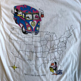 Original Late 1988 Vintage Grateful Dead T-Shirt/ Size Medium