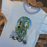 Original 1970s Vintage Grateful Dead T-Shirt/ Size Small