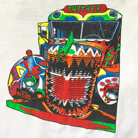 Original Mid 1990s Vintage Further Bus T-Shirt/ Size Large