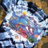 Original Early 1990s Vintage Sea Life T-Shirt/ Size Medium