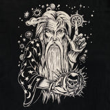 Original Late 1980s/ Early 1990s Vintage Wizard T-Shirt/ Size Large