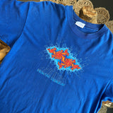Original Early 1990s Fractal T-Shirt/ Size Large