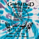 Original 1991 Vintage Grateful Dead T-Shirt/ Size Large