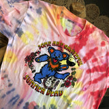 Original Late 1980s/Early 1990s Vintage Grateful Dead T-Shirt/ Size XL