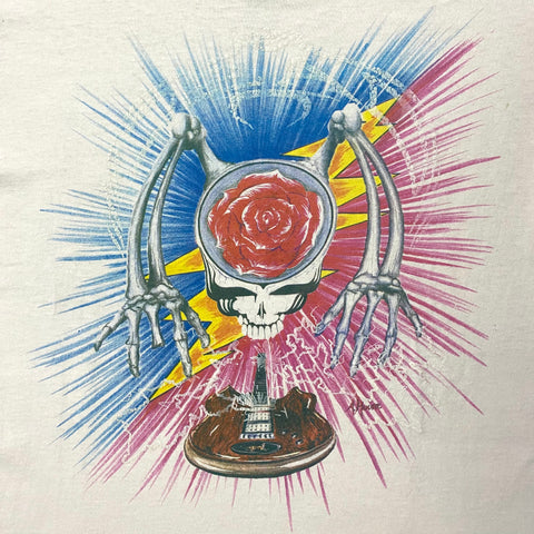 Original 1988 Vintage Grateful Dead T-Shirt/ Size Large
