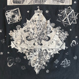 Original 1990s Vintage Mc Escher T-Shirt/ Size Medium