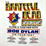 Original 1987 Vintage Grateful Dead T-Shirt/ Size Large
