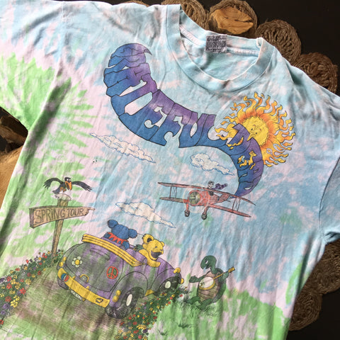 Original 1992 Vintage Grateful Dead T-Shirt/ Size XL