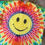 Original 1998 Vintage Smiley Face T-Shirt/ Size XL