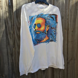 Original 1991 Vintage Jerry Garcia Band T-Shirt/Size X L