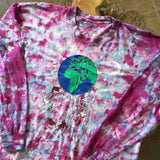 Original Late 1980s Vintage Grateful Dead T-Shirt/ Size Large
