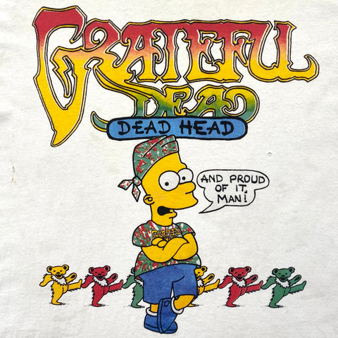 Original Early 1990s Vintage Grateful Dead T-Shirt/ Size XL