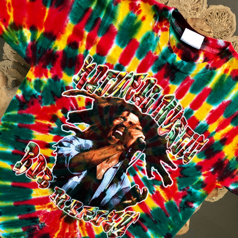 Original Early/Mid 1990s Vintage Bob Marley T-Shirt/ Size XL