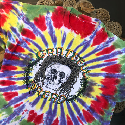 Original 1989 Vintage Grateful Dead T-Shirt/ Size XL