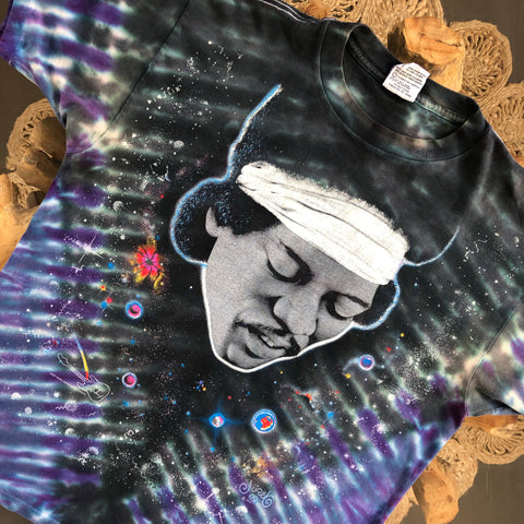 Original 1995 Vintage Jimi Hendrix T-Shirt/ Size Medium