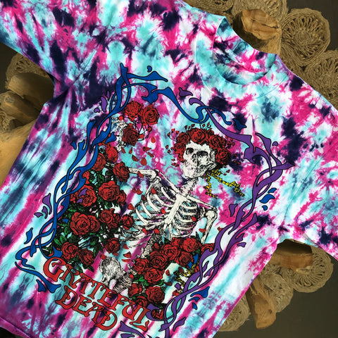Original 1990 Vintage Grateful Dead T-Shirt/ Size Medium
