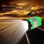 Tent Rechargeable Camping Lanterns Portable USB LED Camp Light with Solar Panel Outdoor Flashlight