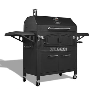 New Arrival Outdoor Large Grill CF-E116005 Home Mobile Kitchen Villa Charcoal Grill Thicker Barbecue Pits For 10-20 People Hot