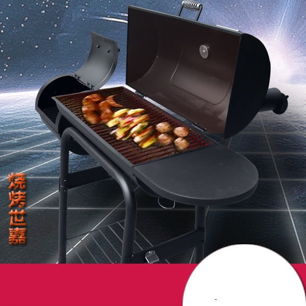 Export American charcoal barbecue BBQ grill carbon outdoor courtyard garden thickening charcoal bbq