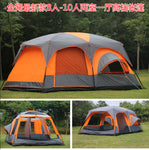 2017 on sale 6 8 10 12 person 2 bedroom 1 living room awning sun shelter party family hiking beach fishing outdoor camping tent