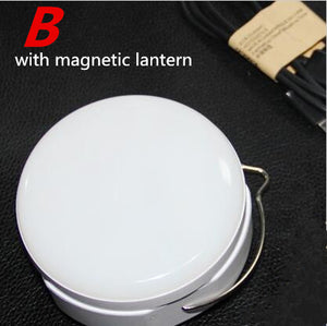 High-quality camping lanterns USB charging LED night lights emergency lamps with magnetic portable tents fishing lights outdoor