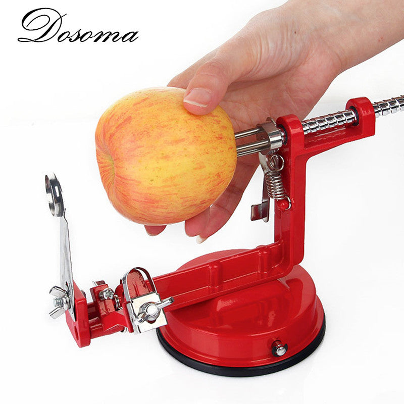 3 in 1 Apple Peeler Slicing Stainless Steel Fruit Machine Peeled Tool Creative Home Kitchen Vegetable Potato Slicer Cutter Bar