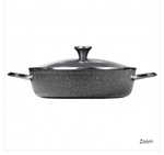 THE ROCK by Starfrit 060743-003-0000 THE ROCK(TM) by Starfrit 5-Quart Dutch Oven with Lid