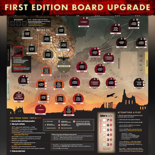 Black Orchestra 2nd Edition Board Upgrade