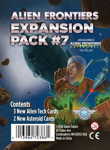 Alien Frontiers: Expansion Pack #7