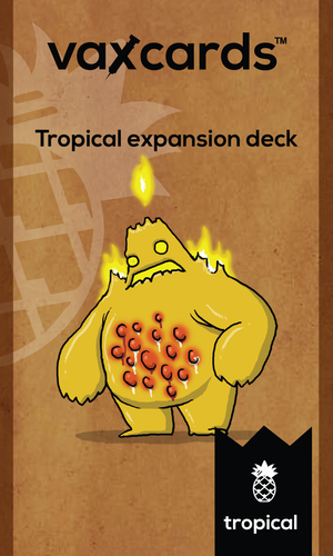Vaxcards: Tropical Deck