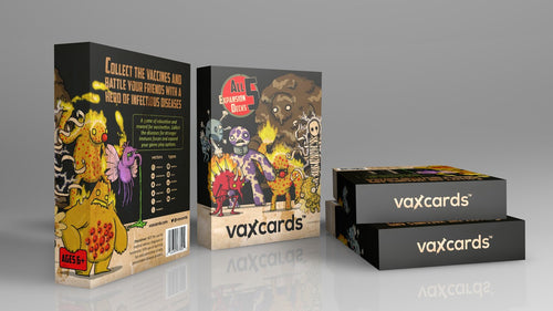 Vaxcards: Pandemic Tuck Box