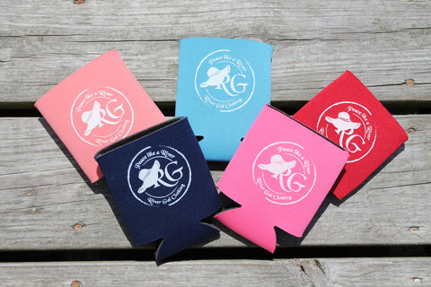 Light Blue Can Koozie