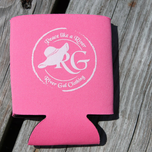 Pink Can Koozie