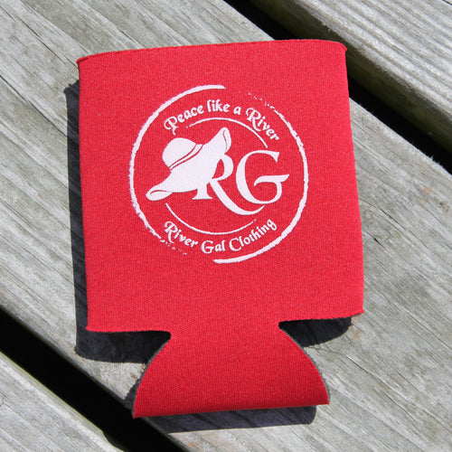 Red Can Koozie