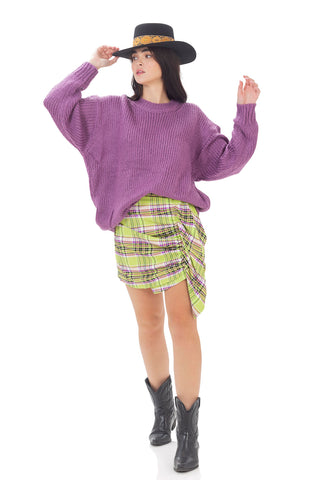Ollympia knit - Purple