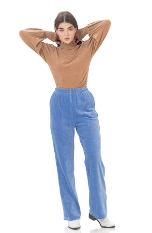Eva Corduroy Pants - Blue