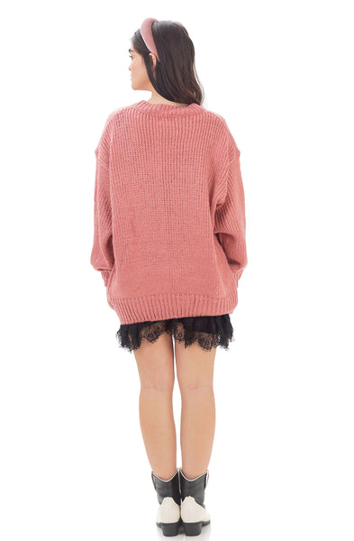Ollympia knit - Pink ins